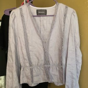 Reformation Tops - Reformation purple long sleeve